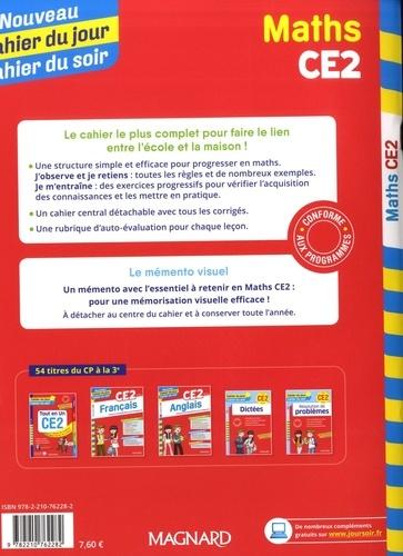 Cahier du jour/Cahier du soir Maths CE2 + mémento  Edition 2019
