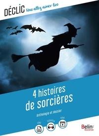 Georges Chandon et Nancy Molnar - 4 histoires de sorcières.