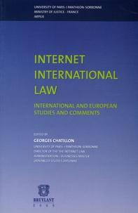 Internet International law - International and European Studies and Comments International colloqium 19-20 November 2001 Paris, Edition en anglais.pdf