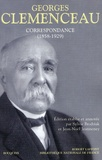 Georges Clemenceau - Correspondance (1858-1929).