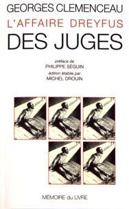 Georges Clemenceau - Des juges.