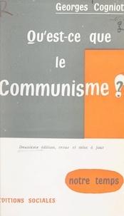 Georges Cogniot - Qu'est-ce que le communisme ?.
