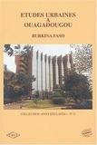 Georges Compaoré et Ousmane Nebié - Etudes urbaines à Ouagadougou - Burkina Faso.