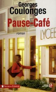 Georges Coulonges - Pause-café.