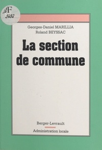 Georges-Daniel Marillia et  Beyssac - La section de commune.