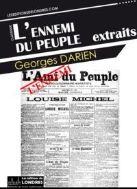 Georges Darien - L'ennemi du peuple - Extraits.