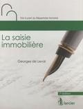 Georges de Leval - La saisie immobilière.