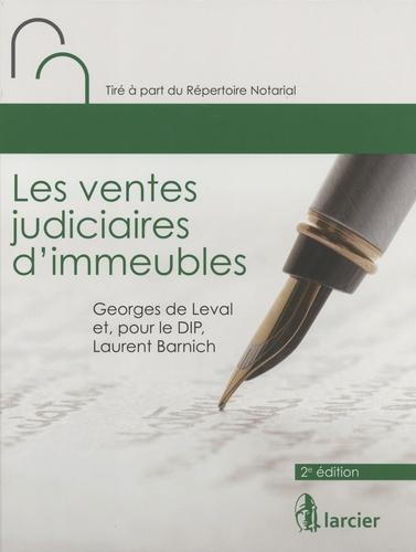 Les ventes judiciaires d'immeubles 2e édition