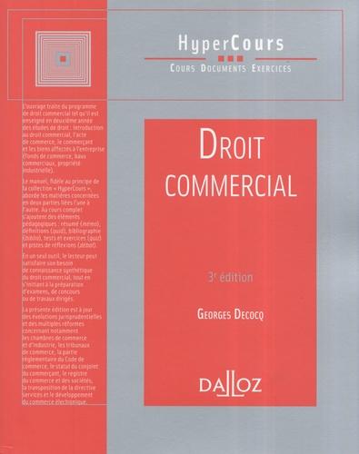 Georges Decocq - Droit commercial.
