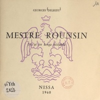 Georges Delrieu - Mestre Rounsin - Un at en lenga nissarda.