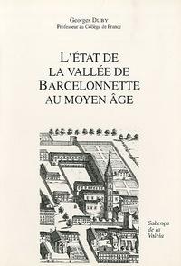 Georges Duby - L'état de la vallée de Barcelonnette au Moyen Age.