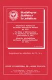 Georges Dutruc-Rosset - Situation et Statistiques du secteur vitivinicole mondial en 2001 - Edition trilingue français-anglais-espagnol.