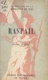 Georges Duveau et  Comité national du centenaire - Raspail.