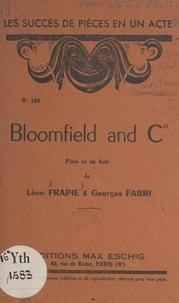 Georges Fabri et Léon Frapié - Blomfield and C° - Pièce en un acte.