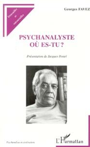 Deedr.fr Psychanalyste, où es-tu ? Image