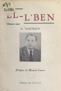 Georges Galunaud et Daniel Carion - El-l'Ben.