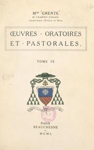 Georges Grente et Auguste de La Force - Œuvres oratoires et pastorales (9).