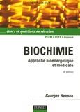 Georges Hennen - Biochimie - Approche bioénergétique et médicale.