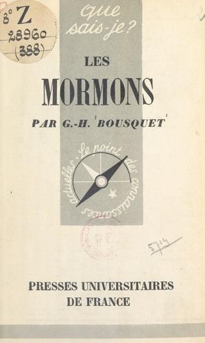 Les Mormons. Histoire et institutions