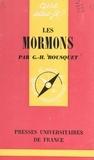 Georges-Henri Bousquet et Paul Angoulvent - Les Mormons.