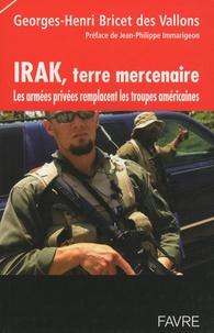 Irak, terre mercenaire - Les armées privées remplacent les troupes américaines.pdf