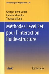Georges-Henri Cottet et Emmanuel Maitre - Méthodes Level Set pour l'interaction fluide-structure.