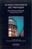 Georges-Henri Soutou - Etudes germaniques. - 4 (2004) : Le statut international de l'Allemagne : des traités de Westphalie aux accords 2+4.