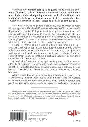 La guerre froide de la France 1941-1990