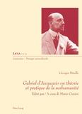 Georges Hérelle - Gabriel d'Annunzio ou théorie et pratique de la surhumanité.