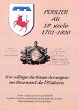 Georges Herve - Perrier au 18e siècle - Une paroisse de Basse-Auvergne au tournant de l'Histoire 1701-1800.