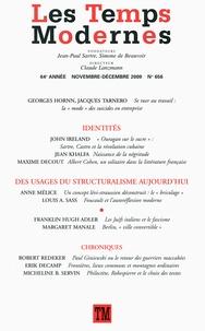 Georges Hornn et Jacques Tarnero - Les Temps Modernes N° 656, Novembre-déc : .
