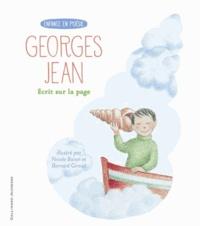 Georges Jean - Ecrit sur la page.