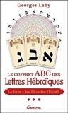 Georges Lahy - Le coffret ABC des Lettres Hébraïques - Livre + 22 cartes Otiyoth.