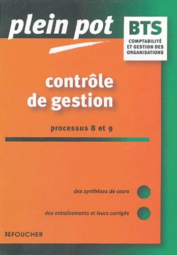 Georges Langlois - Contrôle de gestion Processus 8 et 9 BTS comptabilité et gestion des organisations.