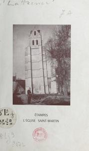 Georges Latterner-Stoffel - Étampes, l'église Saint-Martin.