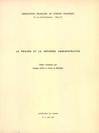 Era-circus.be La région et la réforme administrative Image