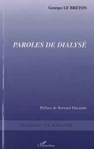 Georges Le Breton - Paroles de dialysé.
