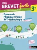 Georges Lemoine et Laurent Lafond - Epreuve de Physique-Chimie-SVT-Technologie 3e.