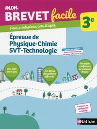 Epreuve de Physique-Chimie-SVT-Technologie 3e - Georges Lemoine |