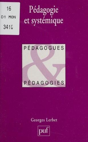 Pédagogie et systémique