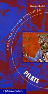 Georges Lethé - Grandes figures bibliques - Pilate et Barabbas.