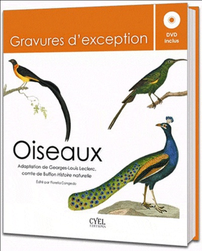 Georges-Louis Leclerc Buffon - Oiseaux - Gravures d'exception. 1 DVD