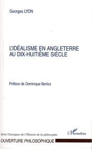 Deedr.fr L'idéalisme en Angleterre au XVIIIe siècle Image