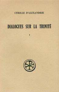 Checkpointfrance.fr DIALOGUES SUR LA TRINITE. Tome 1, Dialogues 1 et 2, Edition bilingue français-grec Image