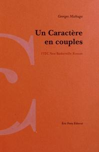 Georges Mishuga - Un caractère en couples - L'ITC New Baskerville Roman agrémenté en son centre par Les caractères de ce caractère.