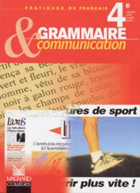 Georges Molinié - Grammaire & communication, 4e.