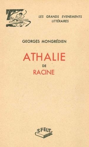 Georges Mongrédien - Athalie de Racine.
