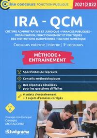 Georges Moracchini - IRA - QCM Entraînement - Concours externe, interne, 3e concours.