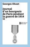 Georges Ohnet - Journal d'un bourgeois de Paris pendant la guerre de 1914 - 11.