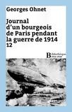 Georges Ohnet - Journal d'un bourgeois de Paris pendant la guerre de 1914 - 12.
